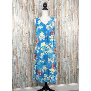 Jams World S Bright Floral Hawaiian Midi Dress